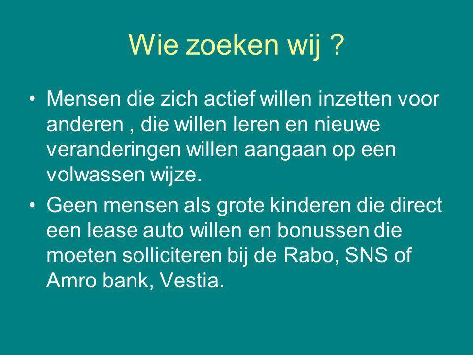 Stichting Actienet Nice Move Hoe maakt de overheid de samenleving en gemeenschapszin kapot .
