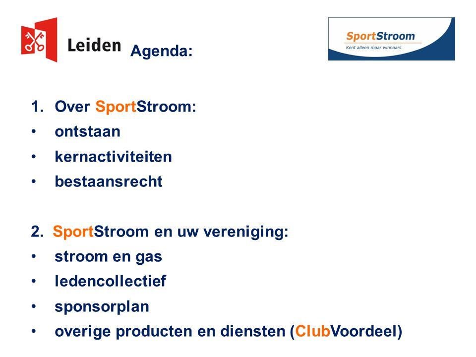 2.SportStroom – overige producten en diensten 1.