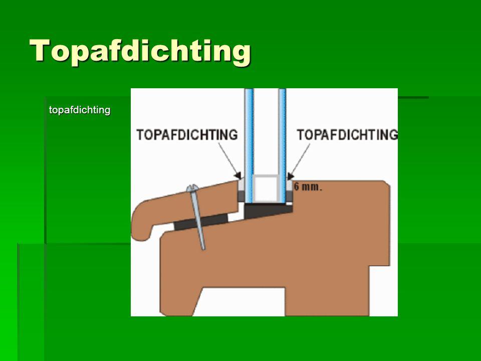 Topafdichting topafdichting