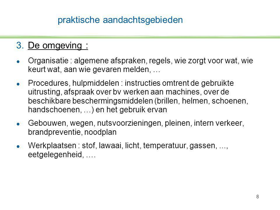 9 4.de chemische producten : l In praktisch elk bedrijf !.
