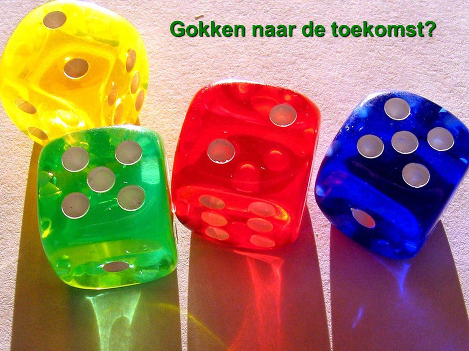 Van der Duin & Stavleu [ future views ] Gokken naar de toekomst?