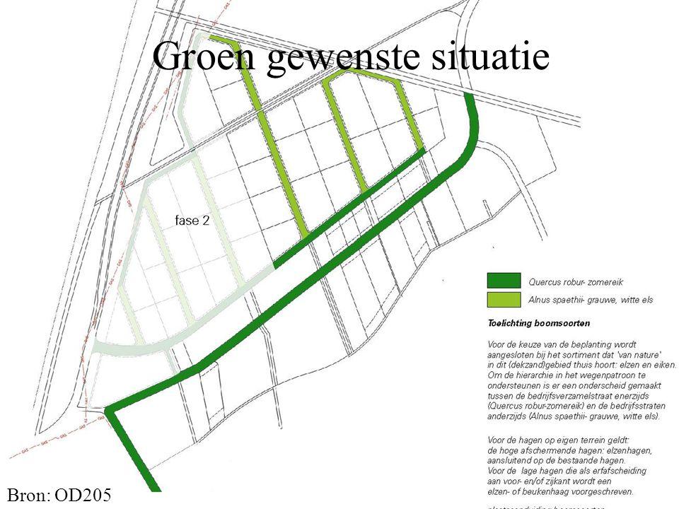 Groen gewenste situatie Bron: OD205