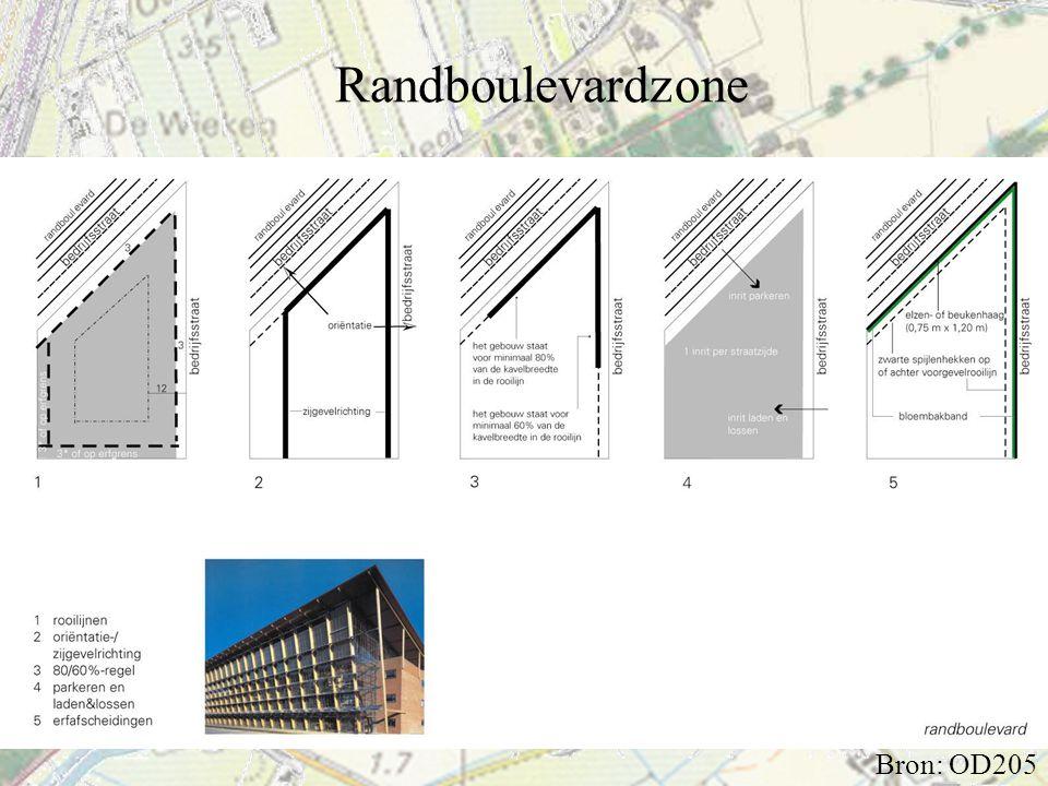 Randboulevardzone Bron: OD205
