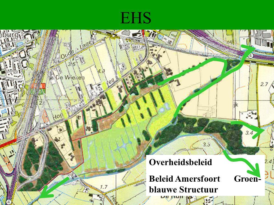 EHS Overheidsbeleid Beleid Amersfoort Groen- blauwe Structuur