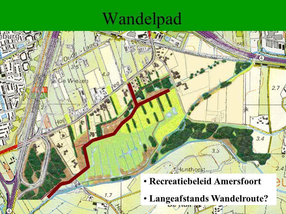 Wandelpad Recreatiebeleid Amersfoort Langeafstands Wandelroute?