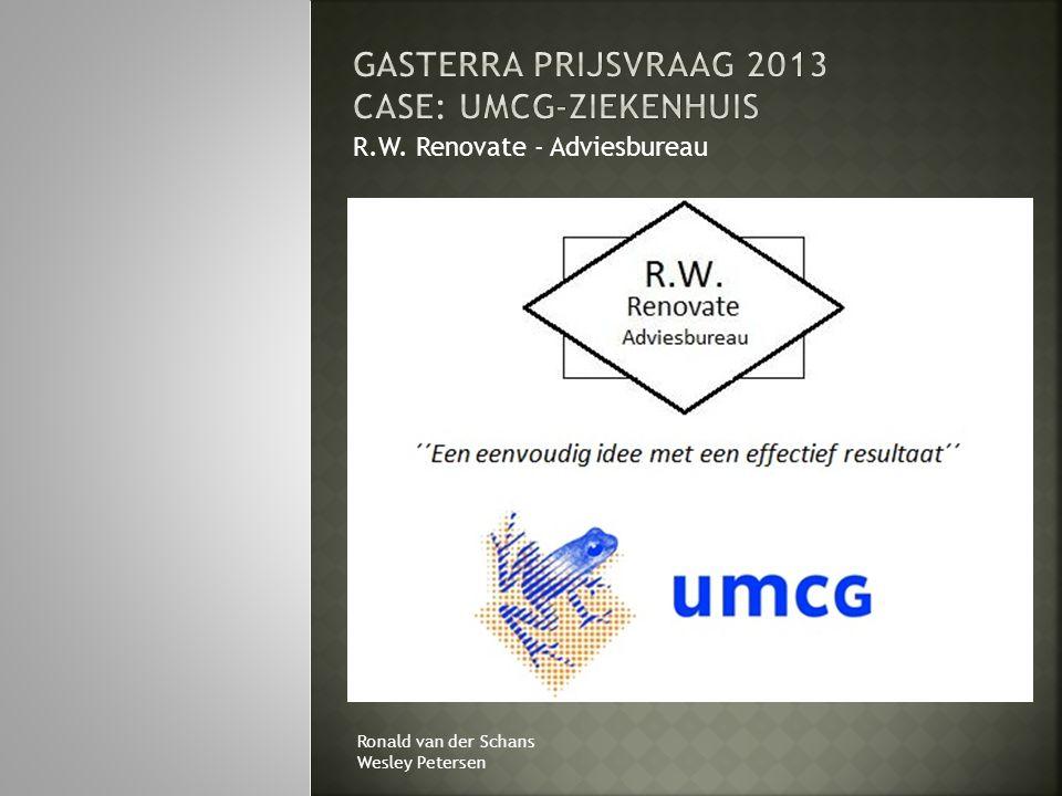 R.W. Renovate - Adviesbureau Ronald van der Schans Wesley Petersen