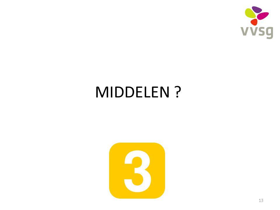 MIDDELEN ? 13