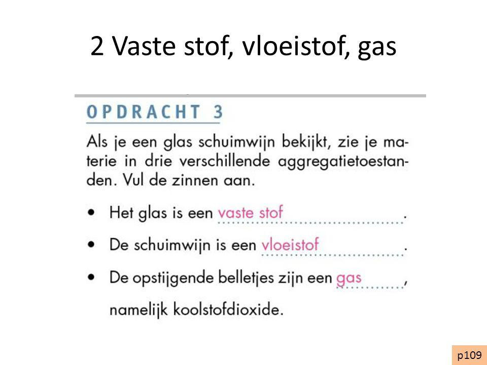 2 Vaste stof, vloeistof, gas p109