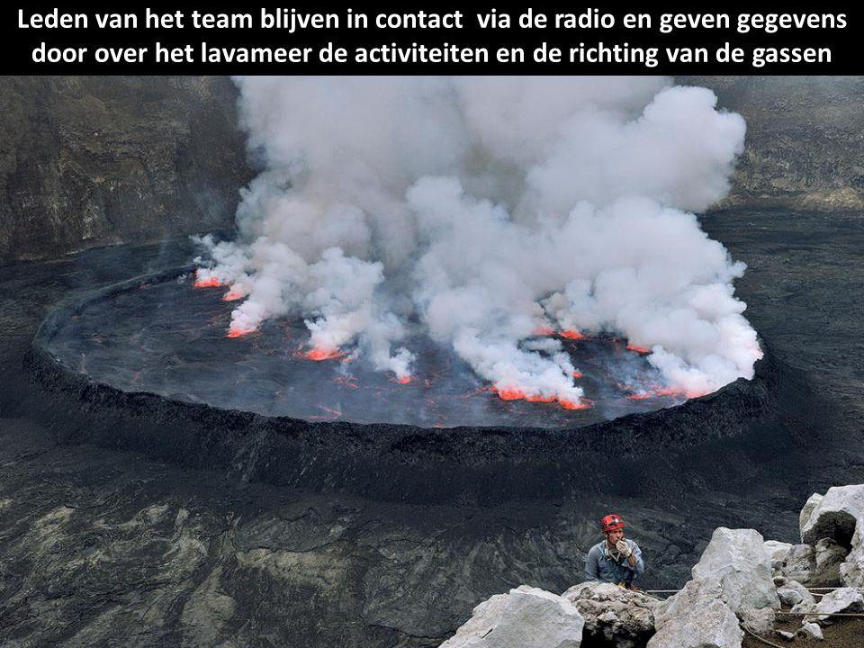 Het doel van de expeditie is de rand van het lavameer te bereiken. Niemand heeft eerder een dergelijke ontmoeting overleefd