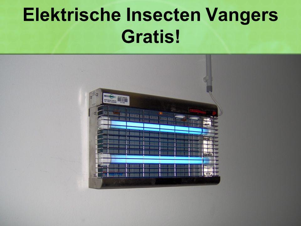 Elektrische Insecten Vangers Gratis!
