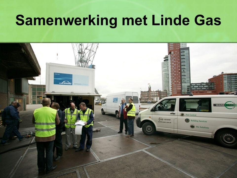 Samenwerking met Linde Gas