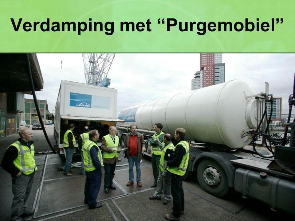 """Verdamping met """"Purgemobiel"""""""