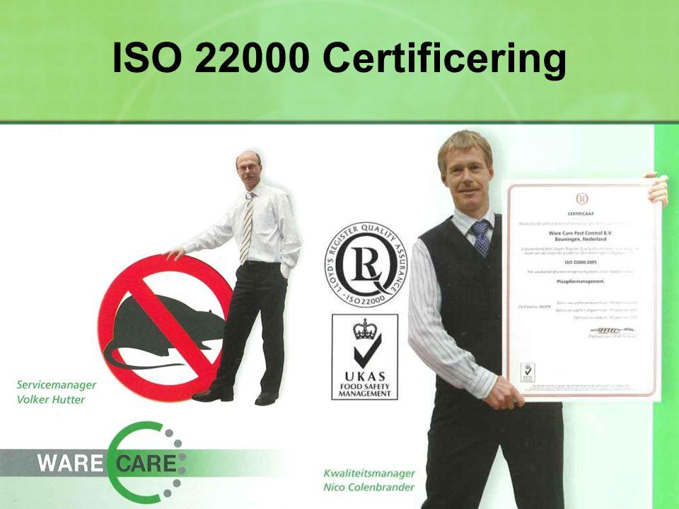 ISO 22000 Certificering