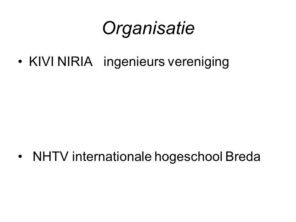 Organisatie KIVI NIRIA ingenieurs vereniging NHTV internationale hogeschool Breda