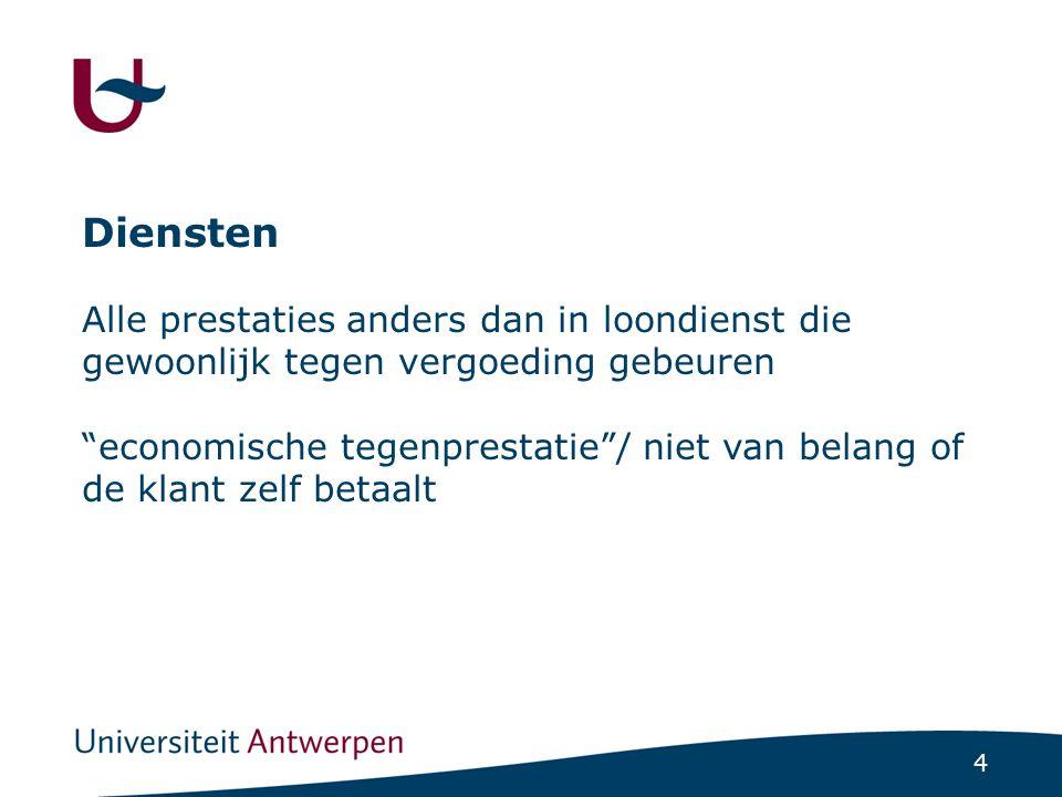 15 De Vlaamse (lokale)screening:bedenkingen Opdracht in een decreet: niet per se algemeen belang Criterium van controle achteraf die te laat zou komen/ verwarring met vermijden van schade/ vergunning vereist of bijzonder geschikt Onnodige formaliteiten
