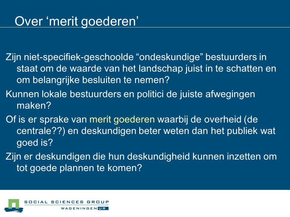 Over het subsidiariteitsprincipe Neem de beslissingen op het niveau waarop ze impact hebben.