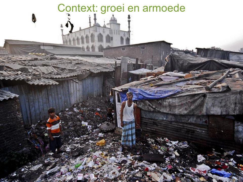 Context: groei en armoede
