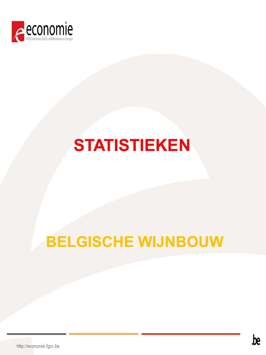 http://economie.fgov.be STATISTIEKEN BELGISCHE WIJNBOUW