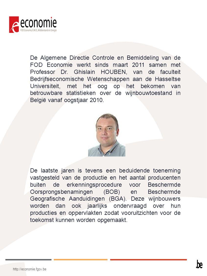 http://economie.fgov.be De Algemene Directie Controle en Bemiddeling van de FOD Economie werkt sinds maart 2011 samen met Professor Dr. Ghislain HOUBE