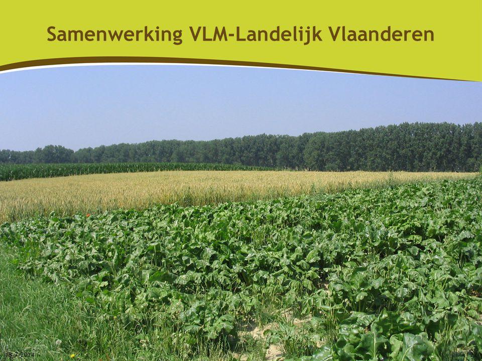 18-7-201422 Samenwerking VLM-Landelijk Vlaanderen
