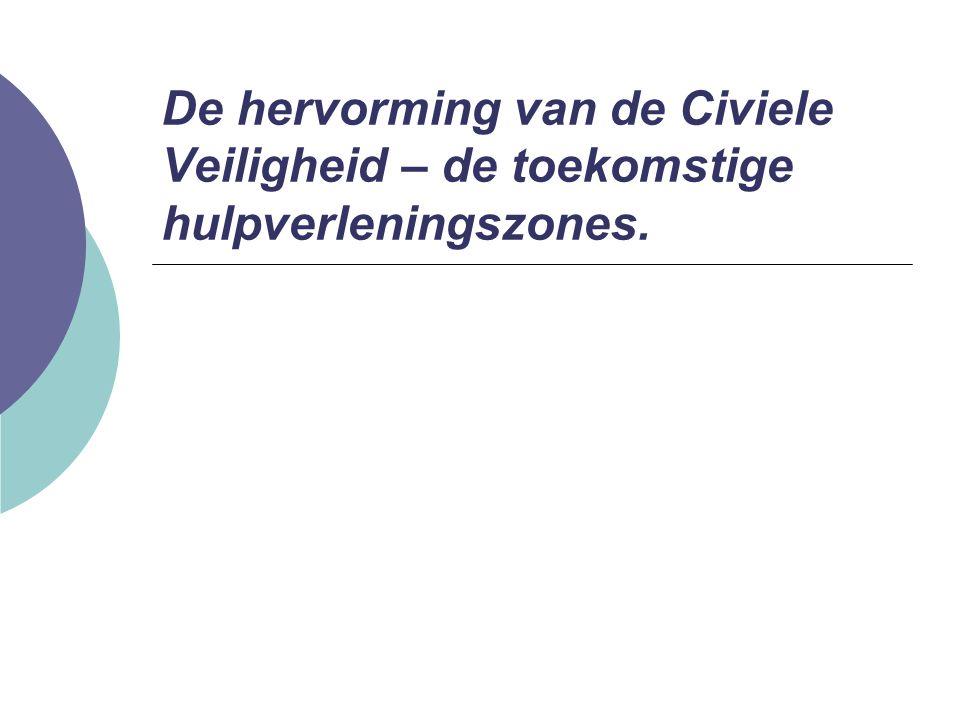 De hulpverleningszone Technische commissie: Ondersteuningsbevoegdheid bij het opstellen van het beleidsplan.