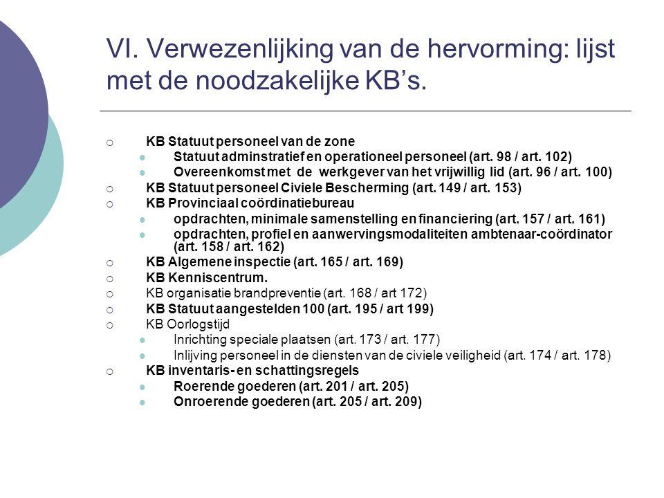 KB Statuut personeel van de zone Statuut adminstratief en operationeel personeel (art. 98 / art. 102) Overeenkomst met de werkgever van het vrijwill