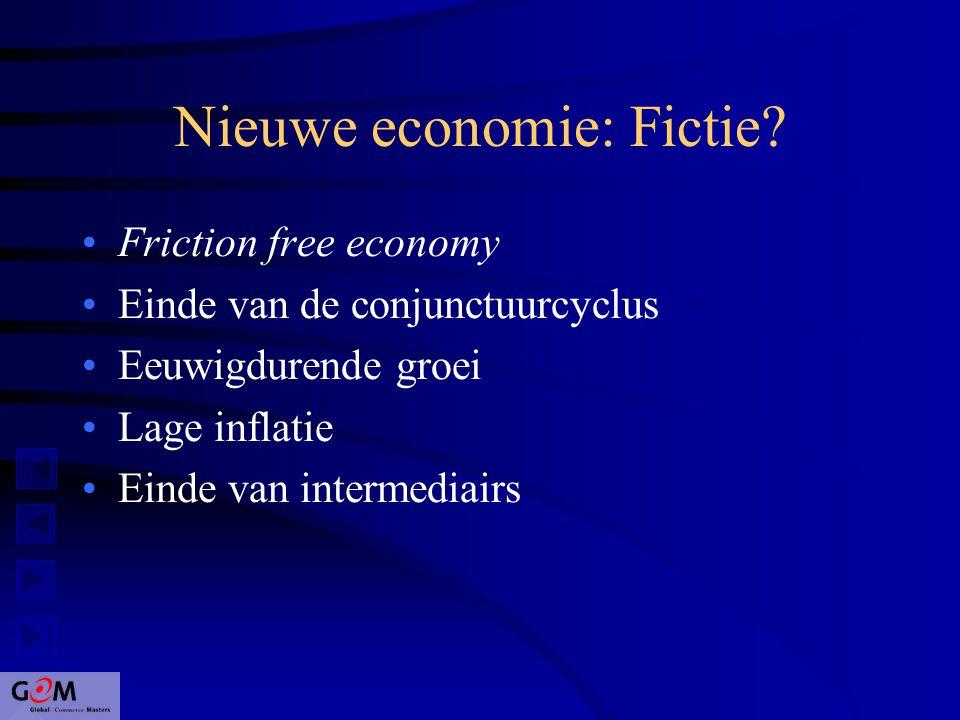 Nieuwe economie: Fictie.