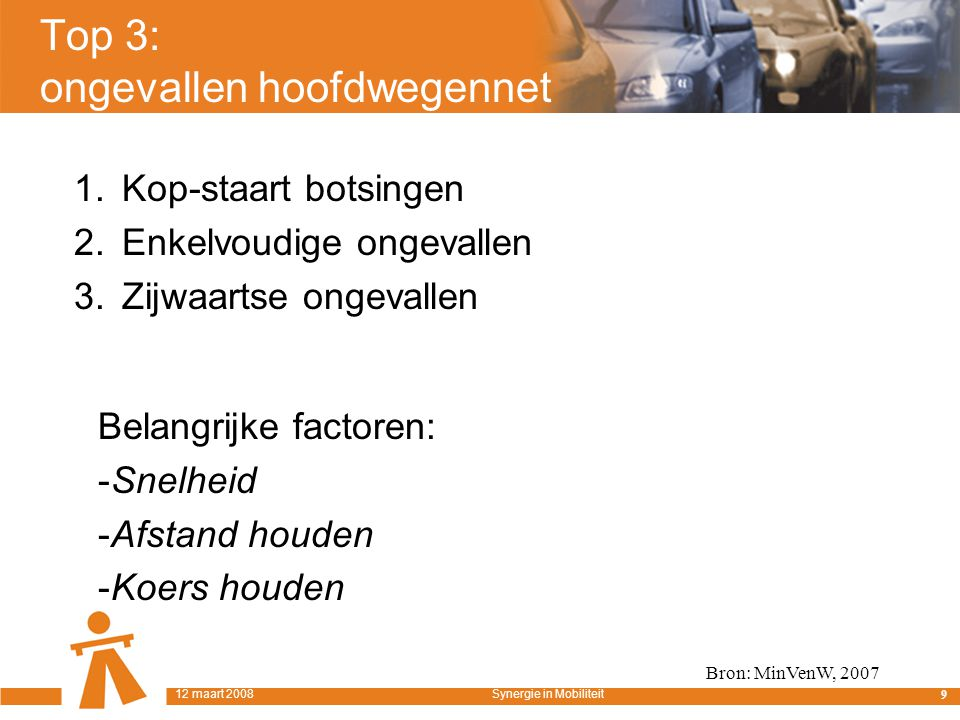 ACC 40 12 maart 2008Synergie in Mobiliteit