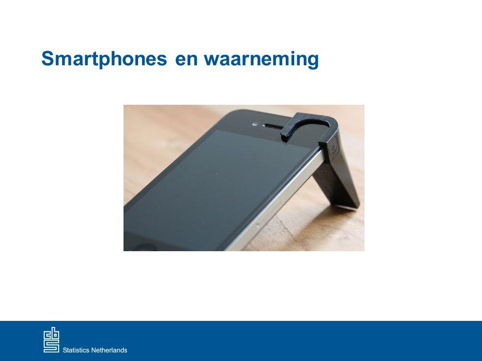Smartphones en waarneming
