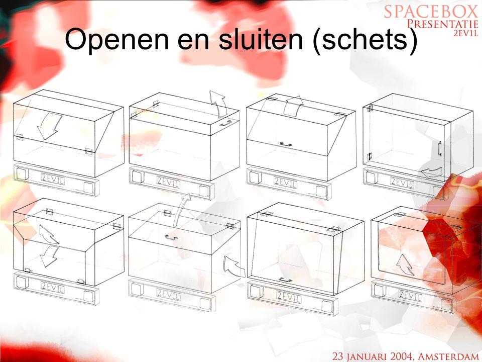Openen en sluiten (schets)