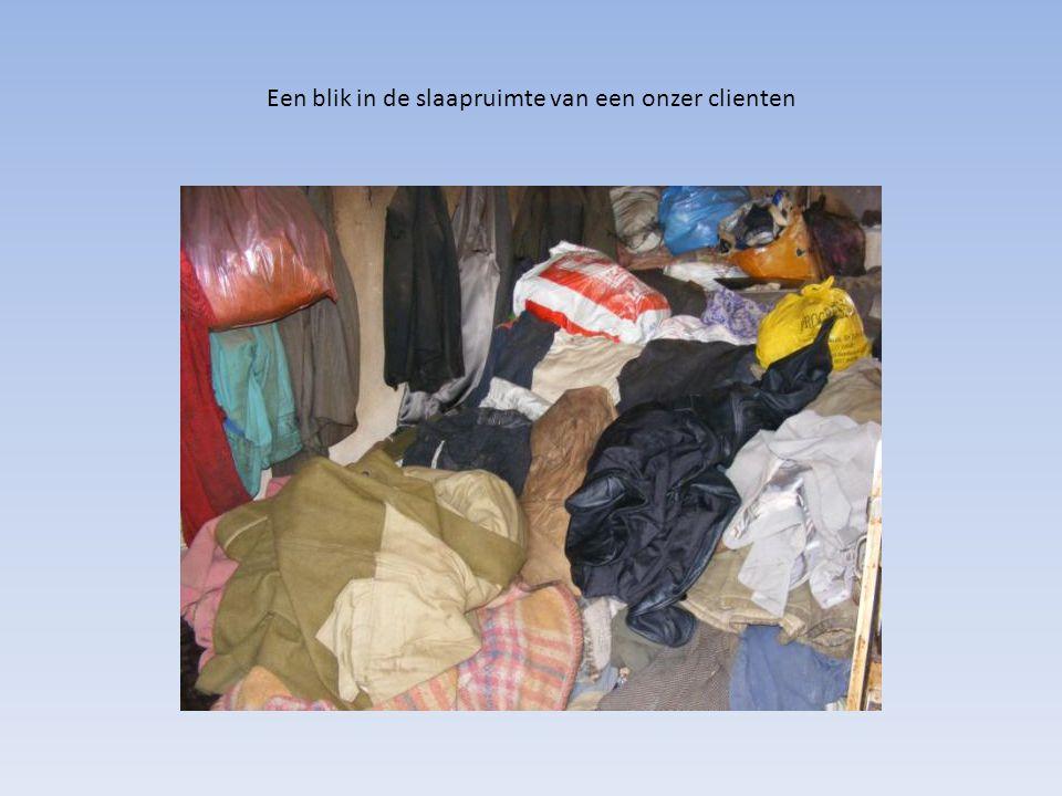 Een blik in de slaapruimte van een onzer clienten