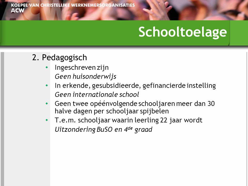 Schooltoelage 2.