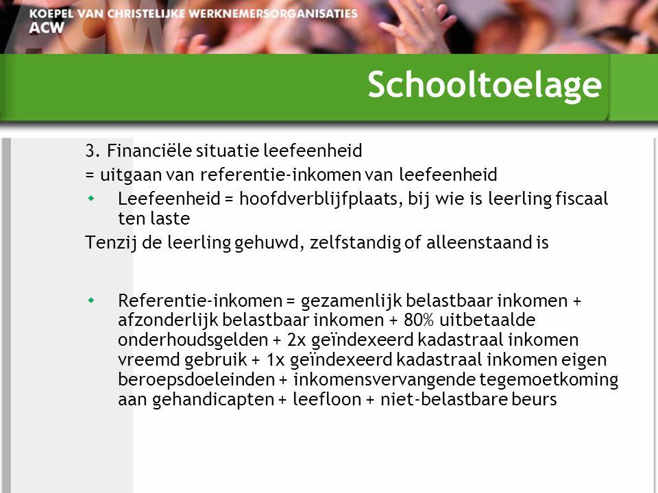 Schooltoelage 3.