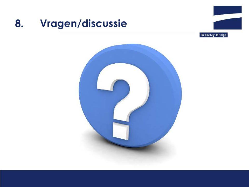 8.Vragen/discussie