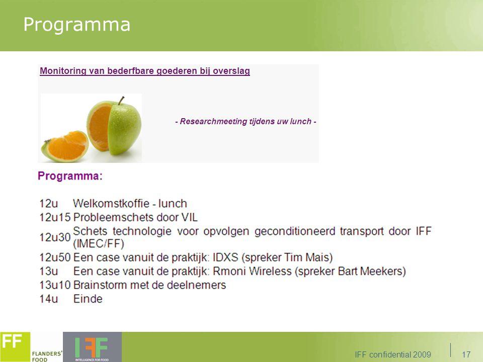 Programma IFF confidential 200917