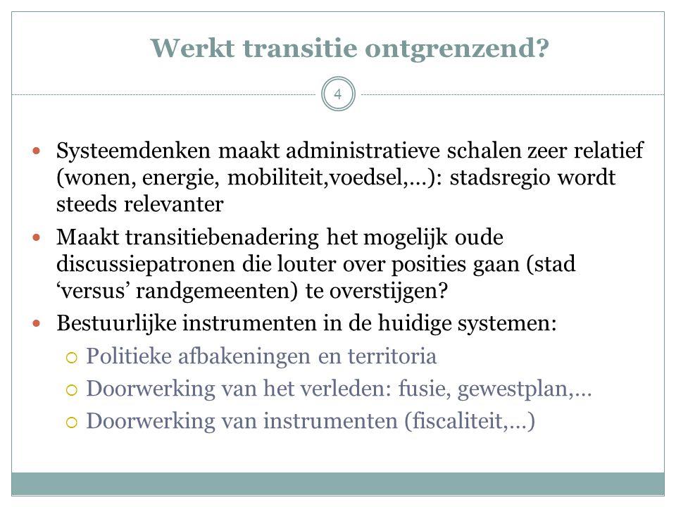 4 Werkt transitie ontgrenzend.