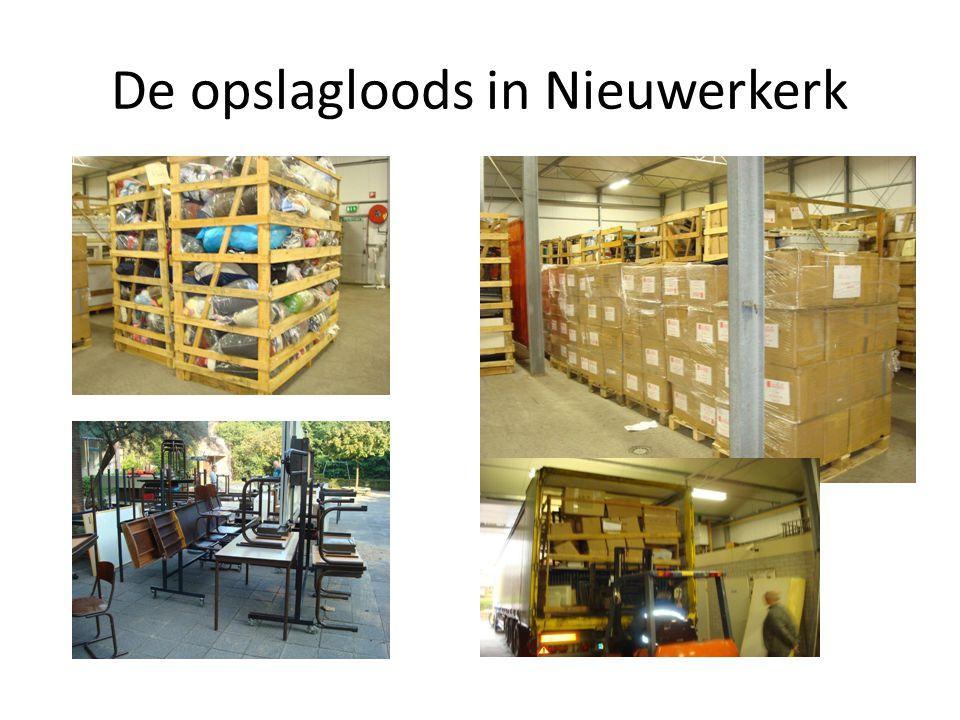 De opslagloods in Nieuwerkerk