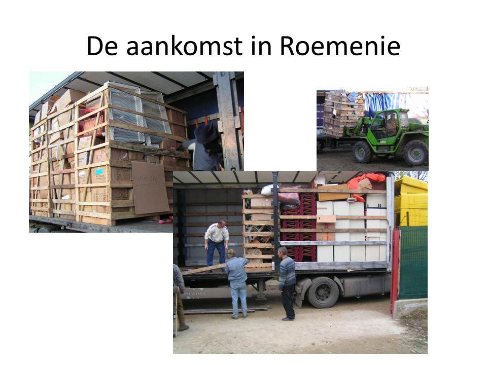 De aankomst in Roemenie