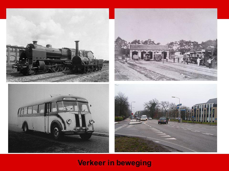 Door komst snellere vervoersmiddelen ontdekken na 1900 steeds meer dagjesmensen de Heuvelrug
