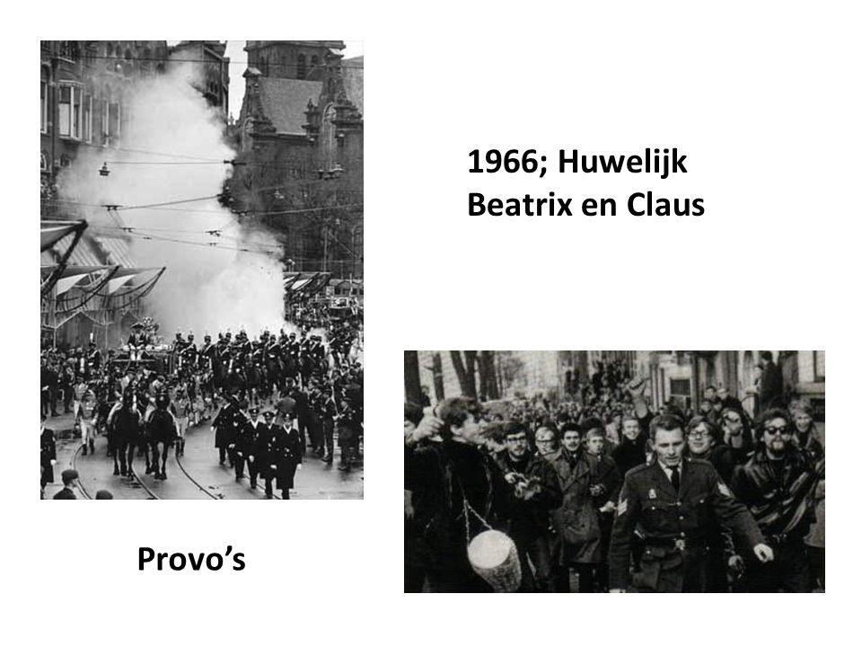 Provo's 1966; Huwelijk Beatrix en Claus