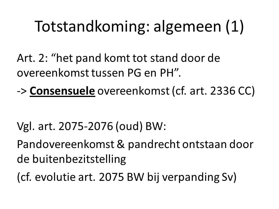 Werking & gevolgen (12) Herverpanding (art.