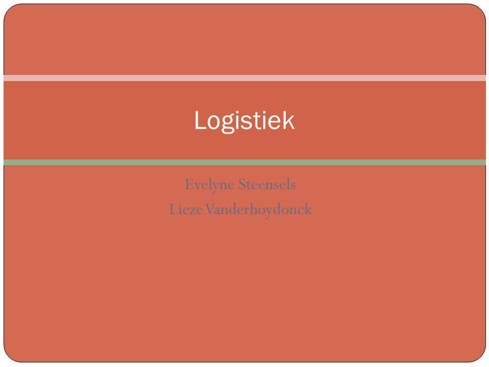 Evelyne Steensels Lieze Vanderhoydonck Logistiek
