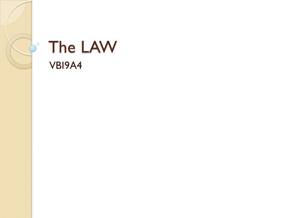The LAW VBI9A4
