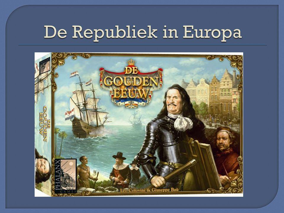 Bloei van -cultuur : kunst en wetenschap -politiek : De Republiek machtigste staat ter wereld -economisch: zie 2.1