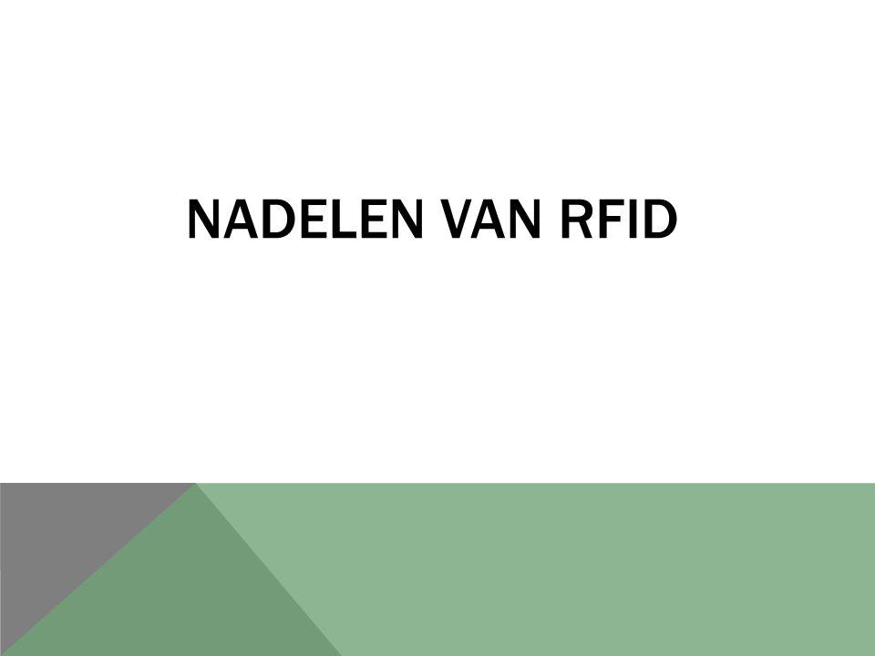 NADELEN VAN RFID