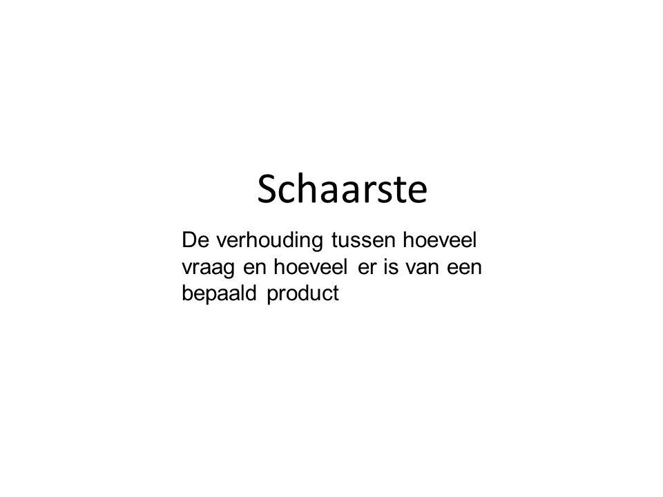 schaarse en vrije goederen Schaarse goederen zijn dus altijd goederen waar een prijs voor betaald moet worden.