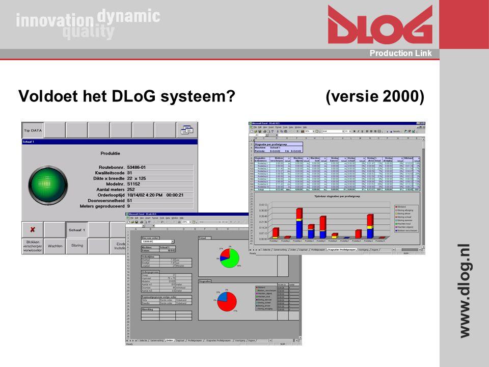 www.dlog.nl Production Link Voldoet het DLoG systeem? (versie 2000)