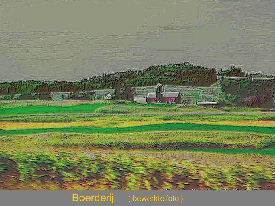 Boerderij ( bewerkte foto )