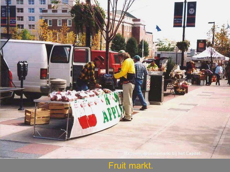 Fruit markt.