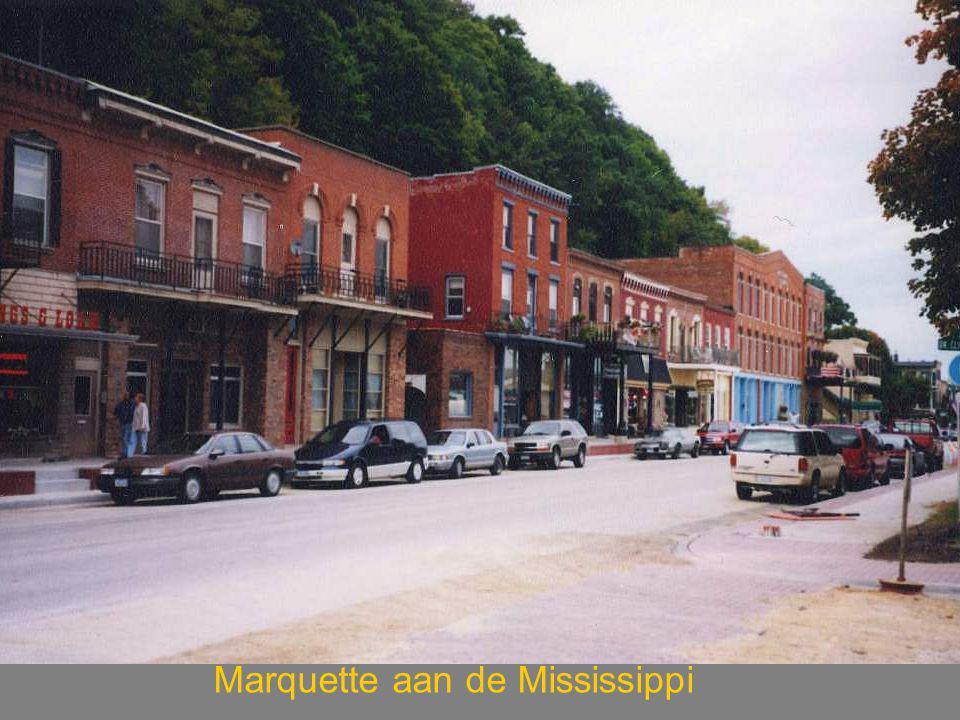 Marquette aan de Mississippi